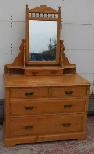 Brights of Nettlebed Country Pine Dressing Table (1 of 6)