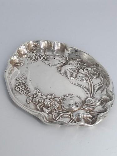 Birmingham 1917 Silver Dish (1 of 6)