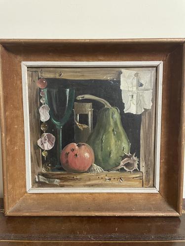 Deborah Jones Signed Fruit Oil Painting (1 of 6)
