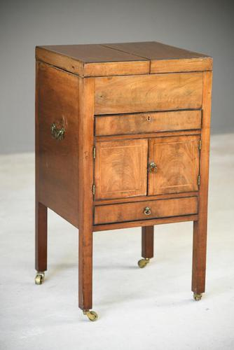 19th Century Campaign Washstand Vanity (1 of 12)