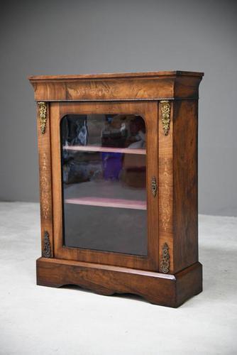 Victorian Walnut Pier Cabinet (1 of 12)