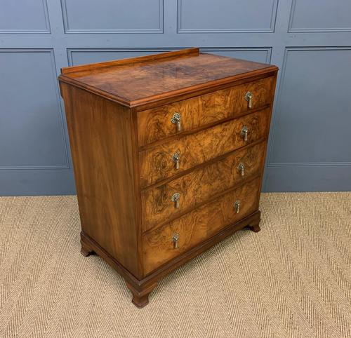 Burr Walnut Chest of Drawers (1 of 13)