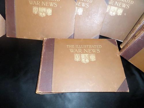 The Illustrated 'War News' 8 Volumes - 1st World War (1 of 6)