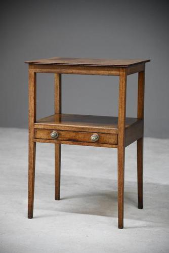 Antique Mahogany Nightstand (1 of 11)
