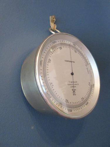 Antique Campaign Style London Marine Barometer (1 of 7)