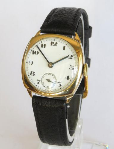 Gents 9ct Gold Wrist Watch, 1949 (1 of 5)