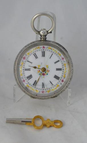 Ladies Victorian Silver Pocket Watch (1 of 3)