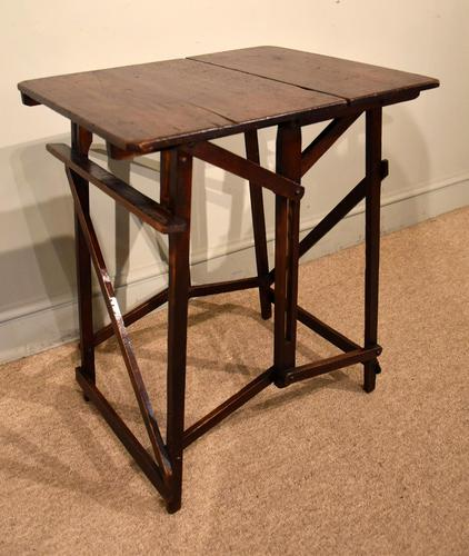 """Campaign Table Easel """"Hatherley"""" Patent (1 of 5)"""