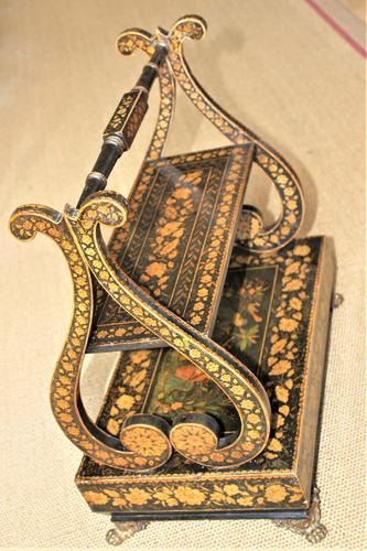 A fine Regency pen work table book stand in the Chinoiserie Style (1 of 8)