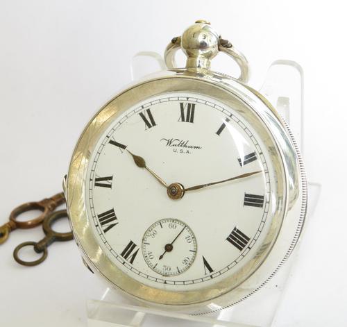 Antique Silver Waltham Pocket Watch (1 of 5)