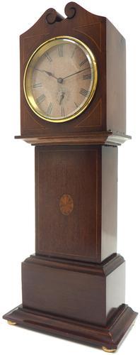 Interesting Mantel Clock, Longcase Grandfather Mantle Clock Alarm Feature (1 of 8)