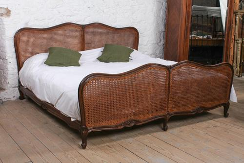 Super Super King Caned Louis Style Bed (1 of 5)
