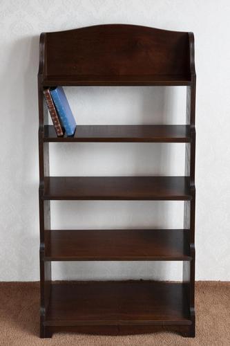 19th Century Mahogany Waterfall Bookcase (1 of 4)