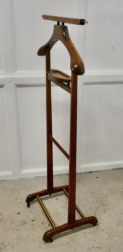 Art Deco Gentleman's Floor Standing Suit Hanger (1 of 4)