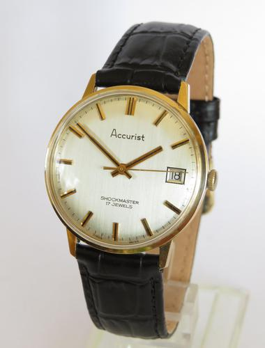 Gents 1970s  Accurist wrist watch, (1 of 3)