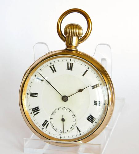 Antique Swiss Gold Filled Pocket Watch (1 of 5)