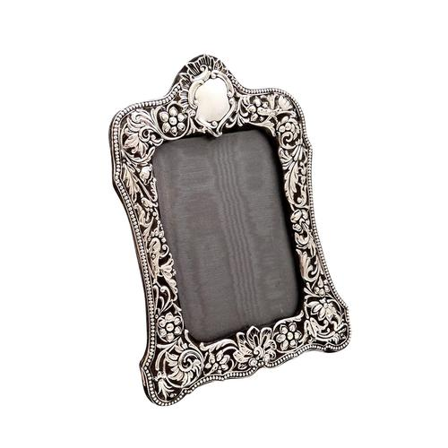 """Antique Victorian Sterling Silver 8"""" Photo Frame   1899 (1 of 10)"""