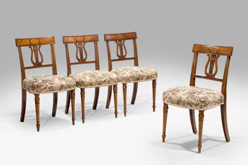 Set of Four George III Period Dining Chairs (1 of 7)