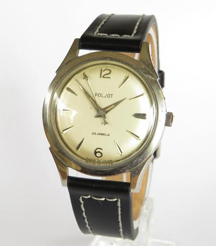 Gents 1950s Poljot Wristwatch (1 of 5)