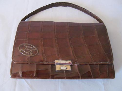 Tiffany & Co Crocodile Skin Handbag (1 of 9)