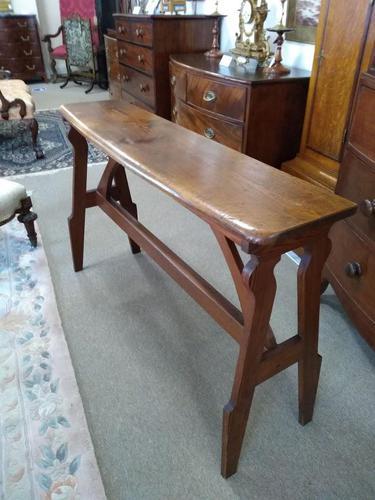 Pitch Pine Church Organ Seat (1 of 7)