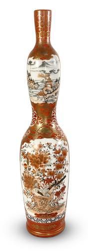 Satsuma Kutani Vase (1 of 6)