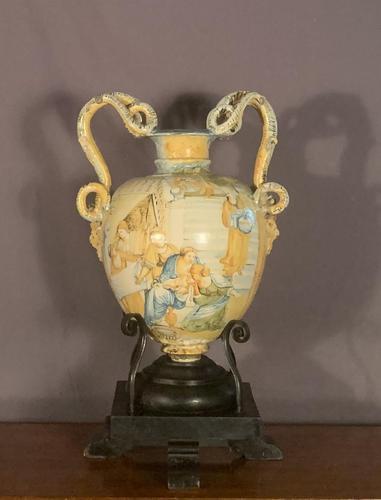 Large decorative Italian renaissance serpent vase (1 of 8)
