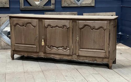 French Bleached Oak Enfilade or Sideboard (1 of 11)