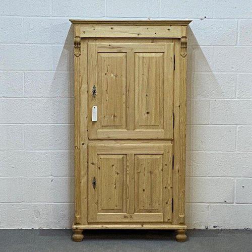 Old Pine 2 Door Cupboard (1 of 5)