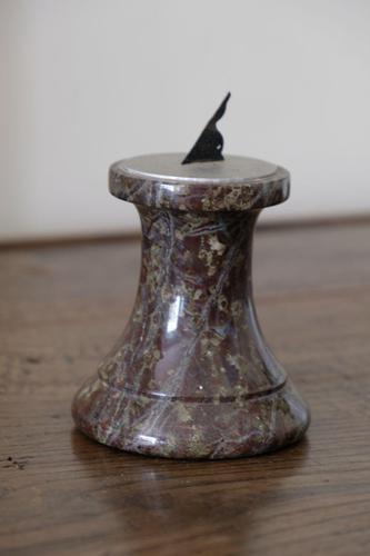 Rare Miniature Marble Sundial (1 of 3)