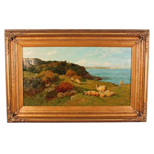 Oil on Canvas Landscape by Charles Collins (1 of 9)