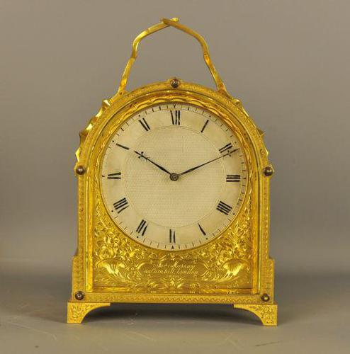 Excellent English Fusee Carriage Clock - James Murrey, London, Probably case by Thomas Cole (1 of 14)