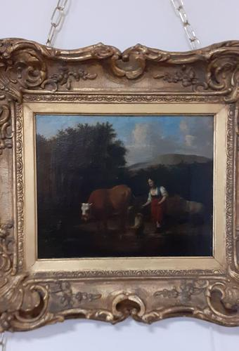 Oil Painting - 18th Century Landscape (1 of 4)