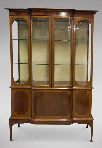 Edwardian Mahogany Display Cabinet (1 of 5)