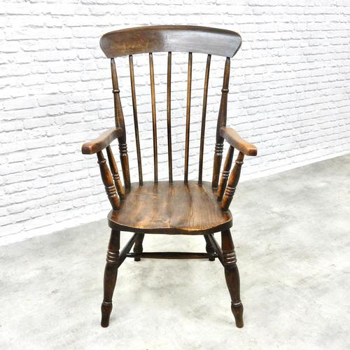 Antique Stickback Windsor Armchair (1 of 6)