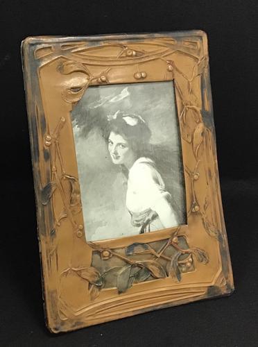 Art Nouveau Celluloid Easel Photo Frame (1 of 5)