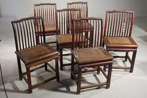 Good & Original Set of 6 Late 19th Century Oriental Chairs (1 of 5)