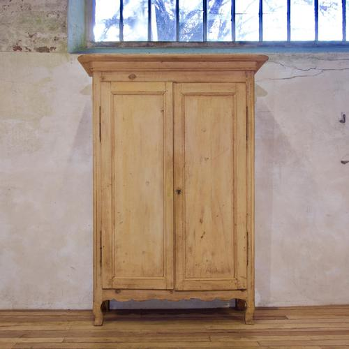 Early 19th Century French Original Painted Provincial Armoire (1 of 14)