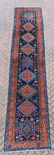 Antique Kraja narrow runner  445x96cm (1 of 9)