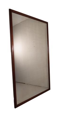 Large Mahogany Mirror (1 of 4)