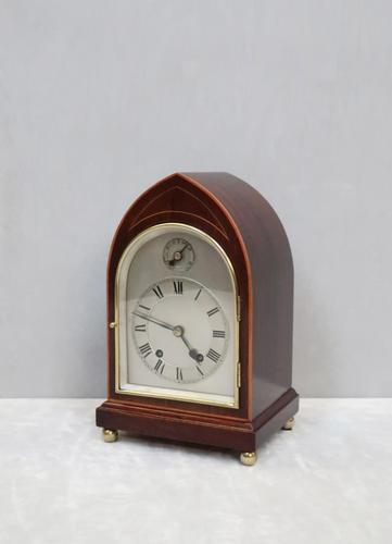 German Ting Tang Striking Mantel Clock by W& H (1 of 7)