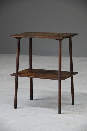 Small Oak Two Tier Table (1 of 16)