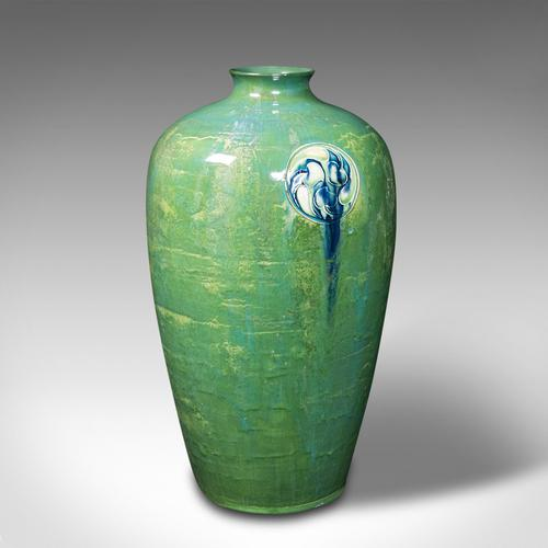 Antique Flaminian Vase, Art Nouveau, Moorcroft, Liberty, London, Edwardian, 1910 (1 of 12)