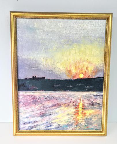 Oil on Canvas Landscape by Mark Ramsden 'Signed' (1 of 6)