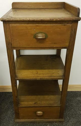 20th Century Pitch Pine Kitchen Unit (1 of 6)