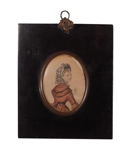 Engraving of a Lady (1 of 2)