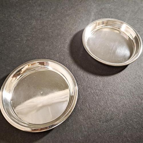 Pair of Asprey Silver Coasters (1 of 4)