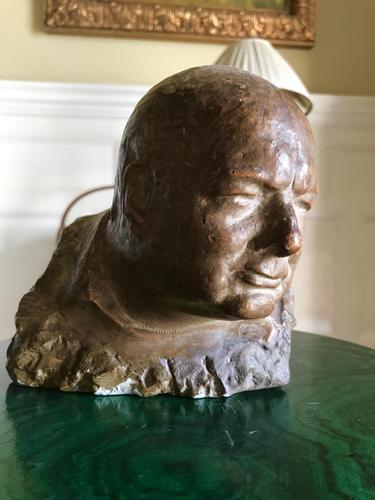 Rare Sir Winston Churchill Marquette (1 of 4)