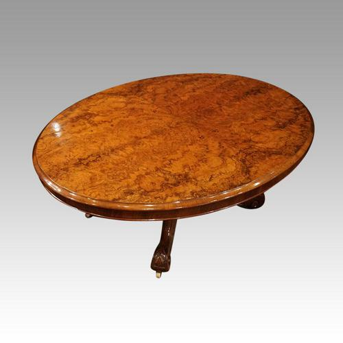 Victorian Walnut Coffee Table (1 of 8)