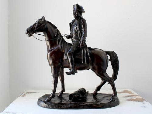 Napoleon Bonaparte on Horseback Bronze by V Cinque (1 of 5)